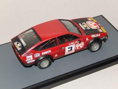 Alfa Romeo Alfetta GTV Rally Costa Brava 1980