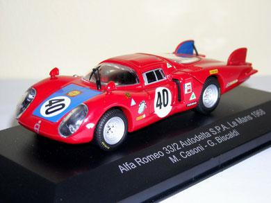 Alfa Romeo 33/2 Le Mans M.Casoni/G.Biscaldi 1968