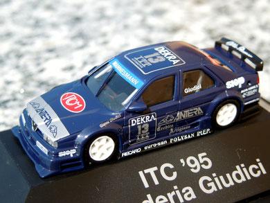 """Alfa Romeo 155 V6 TI """" Giudici """" Antera_ Scuderia Guidici ITC'95"""