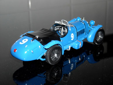 Alfa Romeo 8C 1st LE MANS 1934 L.Chinetti P.Etancelin