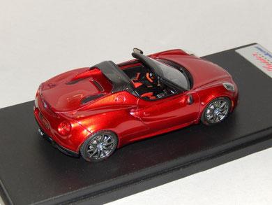 Alfa Romeo 4C Spider 2014