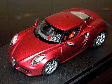 Alfa Romeo 4C Concept Ginevra Motorshow 2011