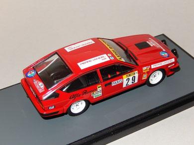 Alfa Romeo GTV6 Rally Monte Carlo 1983