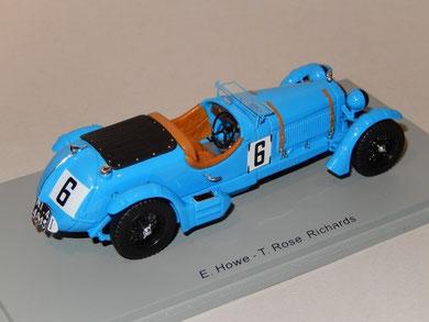 Alfa Romeo 8C2300 LM E.Howe T.Rose-Richards 1934