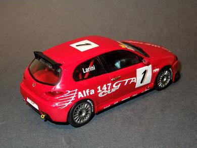 ALFA ROMEO 147 GTA CUP N. Larini 2003