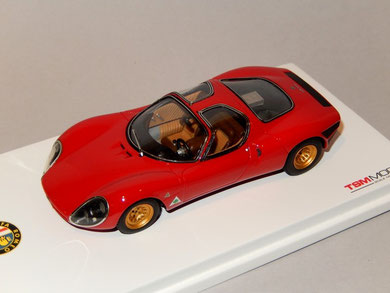 Alfa Romeo Tipo 33 Prototipo Stradale 1967