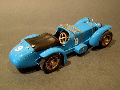 Alfa Romeo 8C LE MANS L.Chinetti P.Etancelin 1934