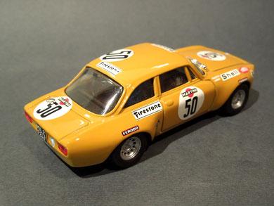Alfa Romeo Giulia GTAM Larini/Facetti 1973
