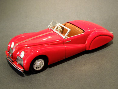 Alfa Romeo 2500s Touring 1939