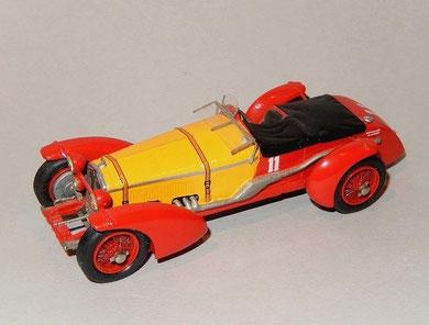 Alfa Romeo 8C LE MANS R.Sommer T.Nuvolari 1933