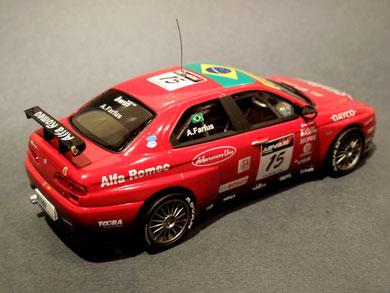 """Alfa Rome 156 GTA """" A. Farfus"""" Winner WTCC 2006"""