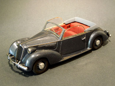 Alfa Romeo 6C 2500T Convertibile Boneschi 1938