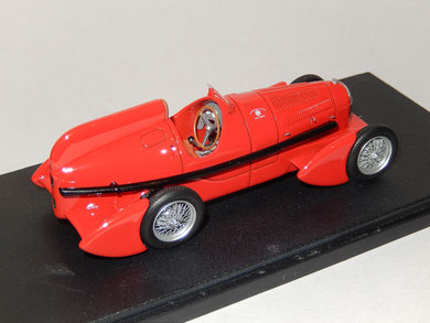 Alfa Romeo P3 TipoB  Aerodinamica 1934