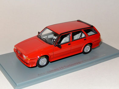 Alfa Romeo 75 Turbo Wagon Rayton Fissore 1986