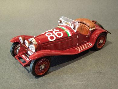 Alfa Romeo 1750 GS Mille Miglia 1931 Campari/Marinoni