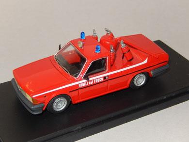 Alfa Romeo Alfa 6 Vigili del Fuoco Pista Balocco 1988