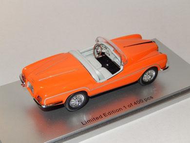 Alfa Romeo 1900 SS Ghia Aigle Roadster 1956