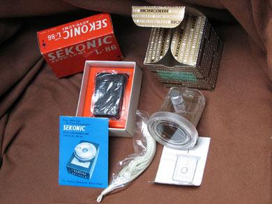 Cellule Sekonic avec boitier étanche Nikon