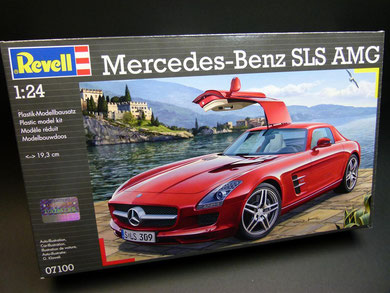 mercedes benz sls amg revell m 1 24 die leitplanke. Black Bedroom Furniture Sets. Home Design Ideas