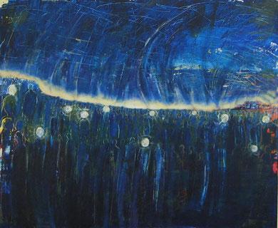 Lichtträger, Acryl auf Leinwand, 100x120cm, 2007