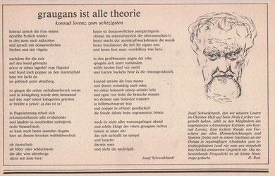 Gedicht-Hommage, Wiener Journal