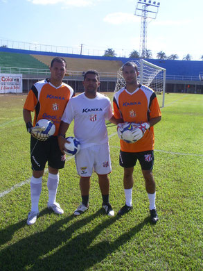 DANIEL , WANDOMAR E EVANDRO GOLEIROS DA SERIE C