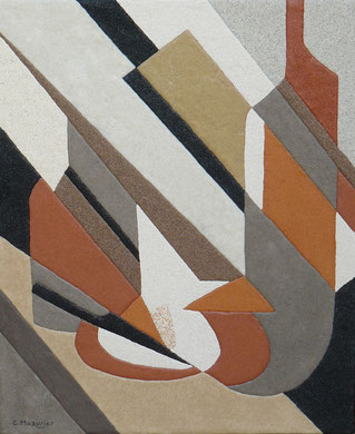 Diagonales; 38 x 46 cm