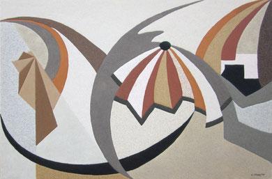 Éclosion (3); 90 x 60 cm