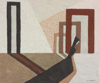 Sérénité 1; 55 x 46 cm