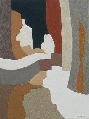 Cache-cache; 54 x 73 cm