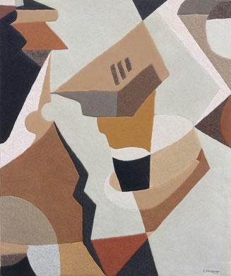 Puzzle; 54 x 65 cm