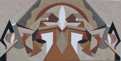 Le Dôme; 80 x 40 cm
