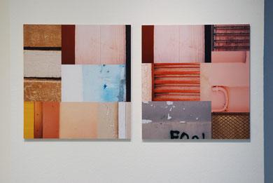 Wandstücke I (Ditychon), 2014, Digitalprint
