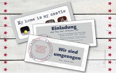 """Umzugskarte """"STEMPEL"""""""