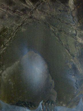 des ténèbres du temps-huile-40x60-1974