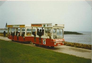 Jan Cux Express vor Kugelbake