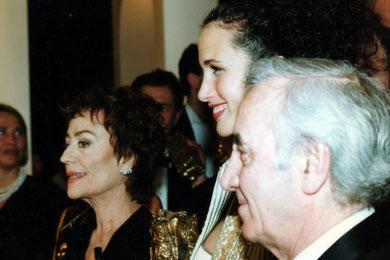 """Annie GIRARDOT - Cérémonie des """"César"""" -  Paris - 1996 © Anik COUBLE"""