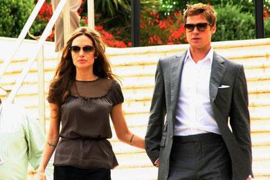 Angelina JOLIE et Brad PITT - Festival de Cannes 2007 © Anik COUBLE
