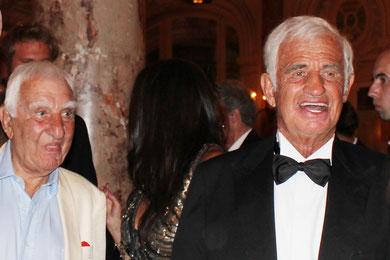 Charles GERARD et Jean-Paul BELMONDO- Festival de Cannes 2011 © Anik COUBLE
