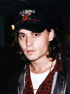 Johnny DEPP - Festival de Cannes 1993 © Anik COUBLE