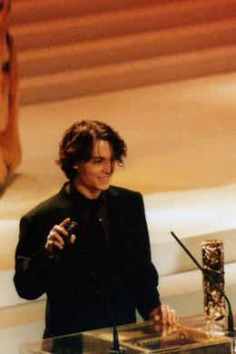 Johnny DEPP - Paris -1999 © Anik COUBLE