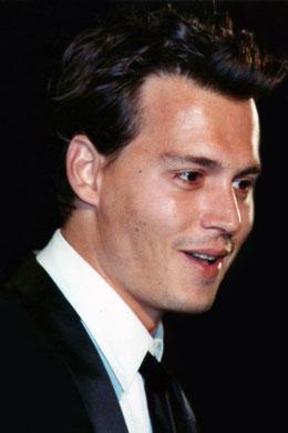 Johnny DEPP - Festival de Cannes 1995 © Anik COUBLE