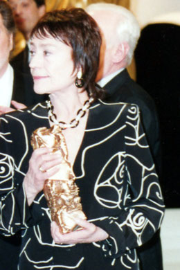 Annie GIRARDOT - César d'honneur -  Paris - 1996 © Anik COUBLE