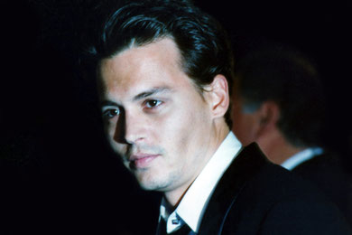 Johnny DEPP - Festival de Cannes 1995 © Anik COUBLE