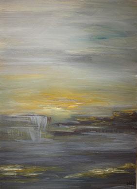 50 x 70 cm Acryl auf Leinwand