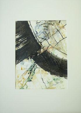Mischtechnk  Acryl Tusche a. Papier .. i.R. 70x50