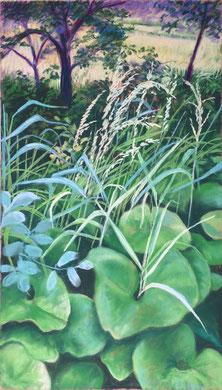 Ensauvagé pastel 65x40 Sylvie Berman artiste peintre