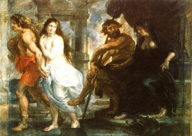 Orfeo y Eurídice (1636-1637), Museo del Prado. Peter Paul Rubens (1577-1640)