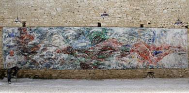 Notre Infini, acrylique sur toile, 9.6 m x 2.15 m, 2015