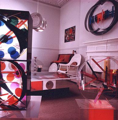 Atelier-Résidence De Vere Gardens, Kensington, Londres, 1967-1970 - photo: Martin Chaffer